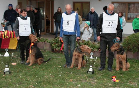 Klub-Fährtenhund-Siegerprüfung und Bundesausscheid IPO/FH in Schönebeck am 27./28. Oktober 2018