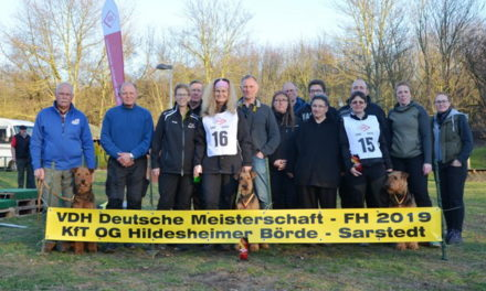 VDH Deutsche Meisterschaft IPO/FH am 22.-24.02.2019 in Sarstedt