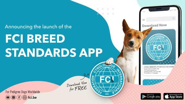 Neue App: FCI-Rassestandard